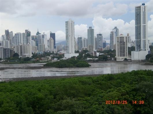 パナマ市内の歴史地区